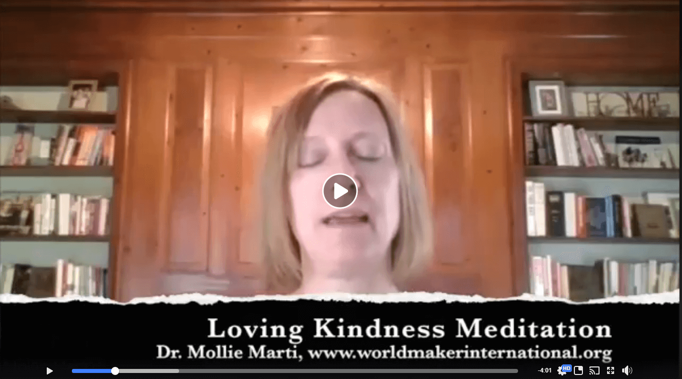 Overheard in the THRIVE Coffee House : Loving Kindness Meditation