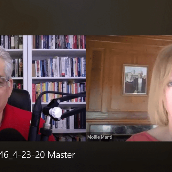 "Resiliency Matters - Dr. Mollie Marti with guest Bob Burg, co-author of ""The Go-Giver"""