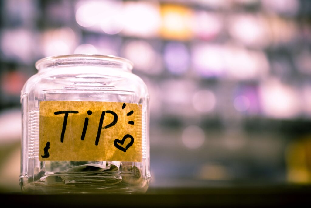 Tips welcome at the THRIVE Cafe