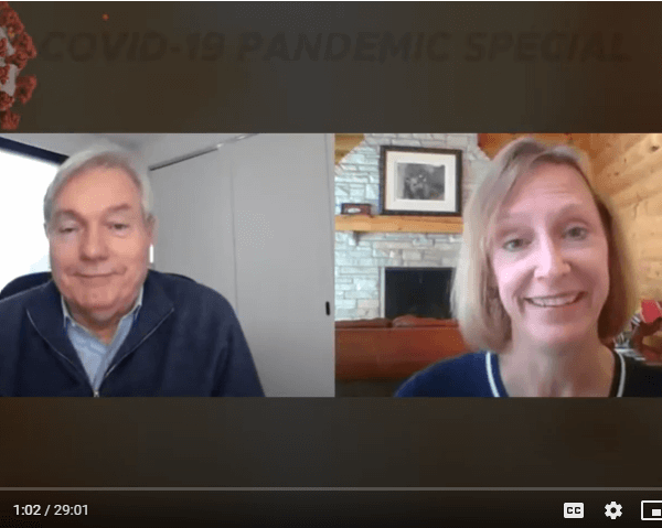 Resiliency Matters TV - Dr. Mollie Marti with pandemic expert Dr. Michael Osterholm, Dir of CIDRAP