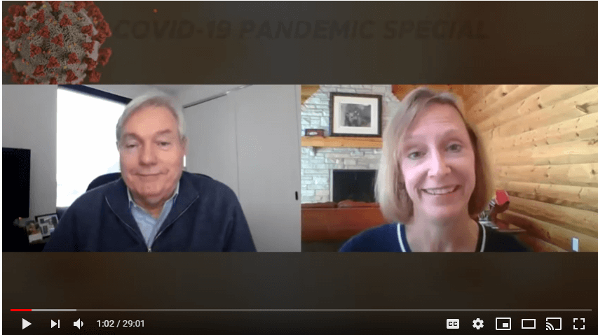 Resiliency Matters – Dr. Mollie Marti with pandemic expert Dr. Michael Osterholm, Dir of CIDRAP