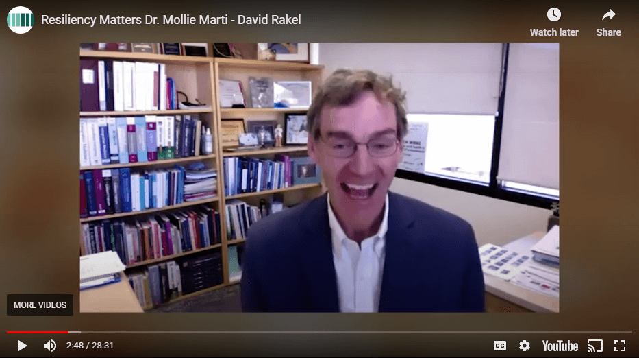 Resiliency Matters TV – Dr. Mollie Marti and Dr. David Rakel